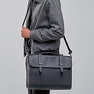 Длинная сумка через плечо