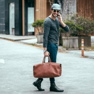 Легкая дорожная сумка