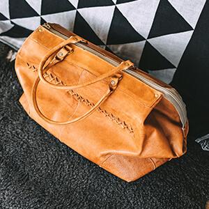 Мужская небольшая дорожная сумка