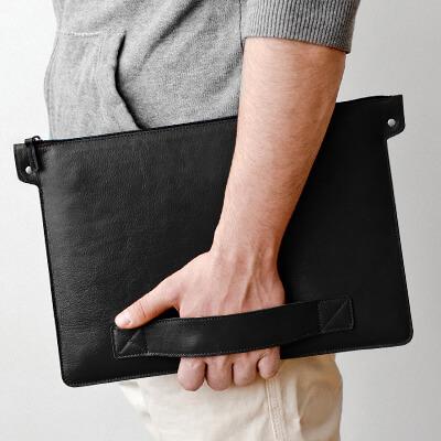 Мужские кожаные папки для ноутбуков
