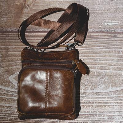 Тонкие сумки через плечо